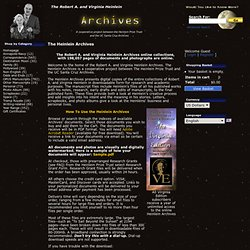 The Heinlein Archives