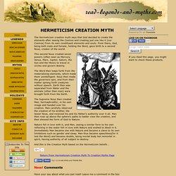 The Hermeticism Creation Myth.