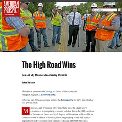 The High Road Wins