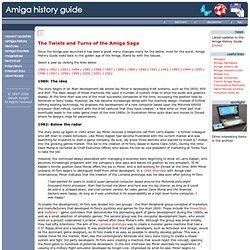 The History of the Amiga