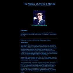 The History of Anime and Manga