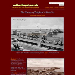 The History of Brighton's West Pier