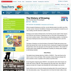 The History of Drawing : Brief Summary
