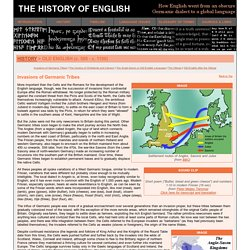 The History of English - Old English (c. 500 - c.1100)