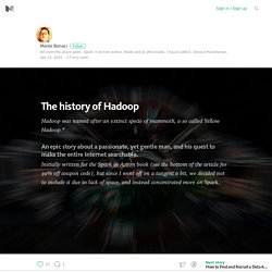 The history of Hadoop – Medium