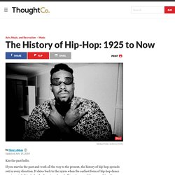 The History of Hip-Hop: The Early Years