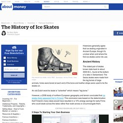 The History of Ice Skates