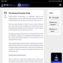 The History of Counter-Strike