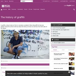 The history of graffiti