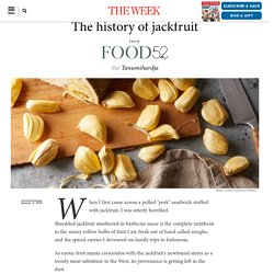 The history of jackfruit