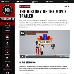 The History of the Movie Trailer
