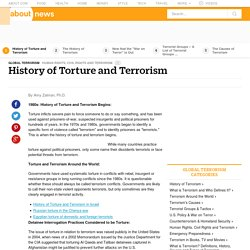 The History of Torture and Terrorism