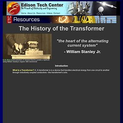 The History of the Transformer