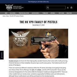 The HK VP9 Family of Pistols
