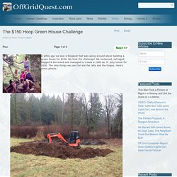 The $150 Hoop Green House Challenge