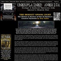 THE HORNET SPOOK LIGHT