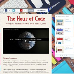 The Hour of Code
