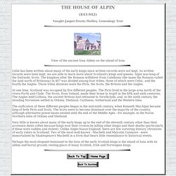 The House of Alpin