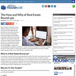 The How and Why of Real Estate Round-ups