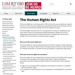 The Human Rights Act