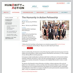 The Humanity in Action Fellowship