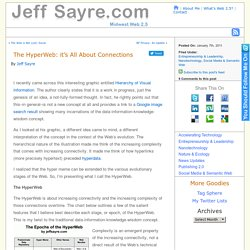 The HyperWeb: it's All About Connections