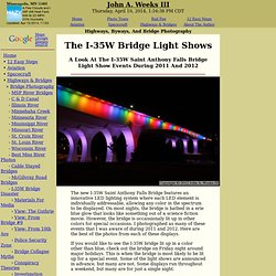 The I-35W Bridge Light Shows