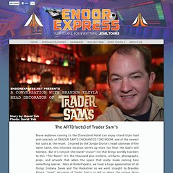 The ART(ifacts) of Trader Sam's : EndorExpress