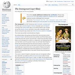The Immigrant (1917 film)