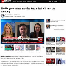 The impact of Brexit on the UK economy - CNN