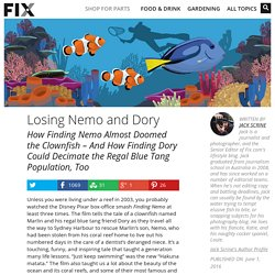 *****Media valorisation: The Eco Impact of Finding Nemo and Finding Dory