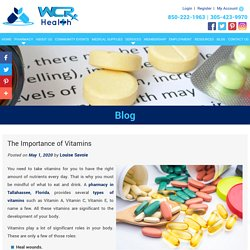 The Importance of Vitamins