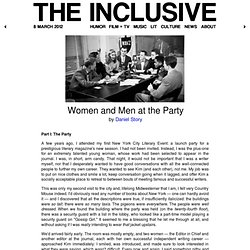 The Inclusive - Women and Men at the Party