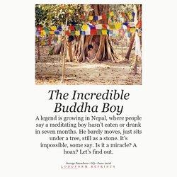 2006/06 [GQ] The Incredible Buddha Boy