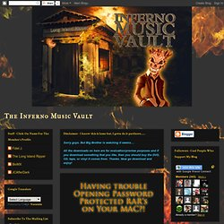 The Inferno Music Vault