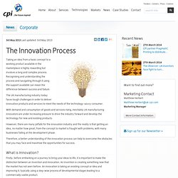 The Centre for Process Innovation