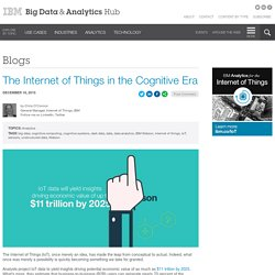 The Internet of Things in the Cognitive Era