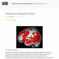 Is the Internet Warping Our Brains? - Technology