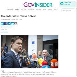 The Interview: Taavi Rõivas