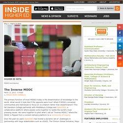 The Inverse MOOC