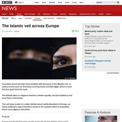 The Islamic veil across Europe