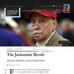 The Jacksonian Revolt