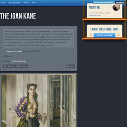 the joan kane