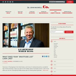 The John Maxwell Company