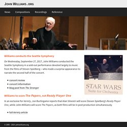 The John Williams Web Pages