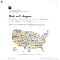 The Journalist-Engineer – Medium