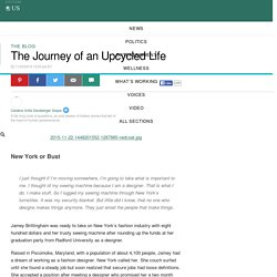 The Journey of an Upcycled Life