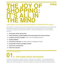 The Joy of Shopping: It's All in the Mind - FITCH