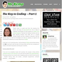 The Key to Coding – Part 1