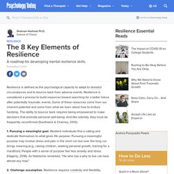 The 8 Key Elements of Resilience